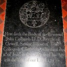 Photo:Gravestone of the Revd. John Colbatch